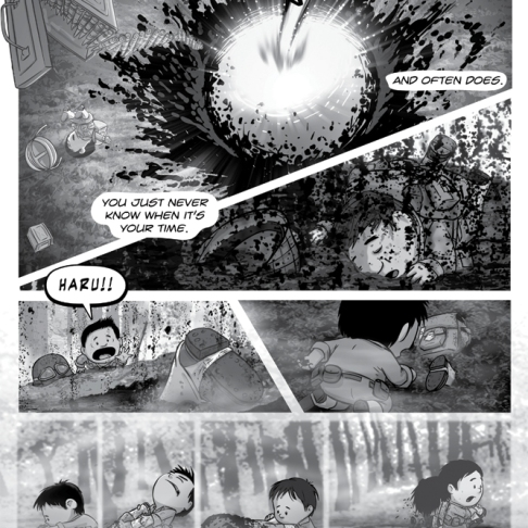 Figure 22: Journey of Heroes, working drafts.