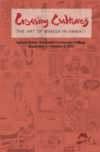 Crossing Cultures - The Art of Manga in Hawai'i (exhibition booklet)